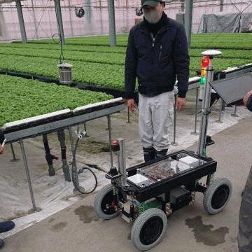 農業のロボット活用。